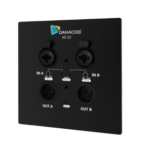 DA-AD22, Dante Audio Wallplate