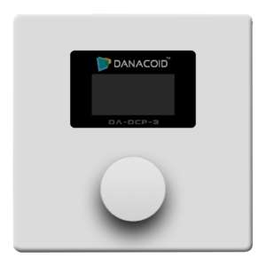 DA-DCP-3, Audio Control Panel with OLED Display