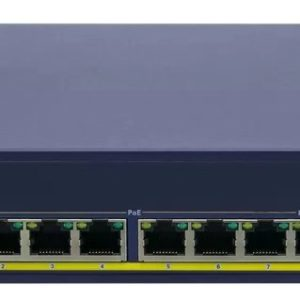 DA-PSW8A, 8-Port PoE and Dante Audio Switch